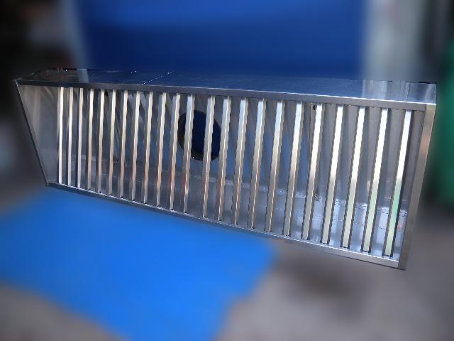 dunstabzugshaube abzugshaube mit einlegerost edelstahl ca 247 cm breit. Black Bedroom Furniture Sets. Home Design Ideas