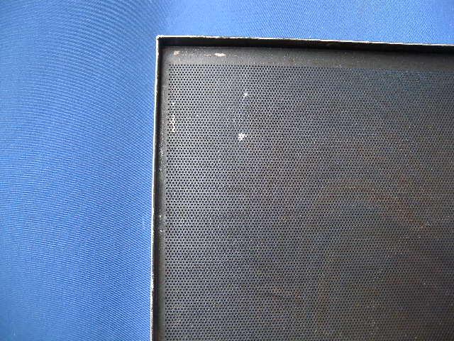 aluminium lochblech backblech 58 78 cm 3rand teflon beschichtet ebay. Black Bedroom Furniture Sets. Home Design Ideas