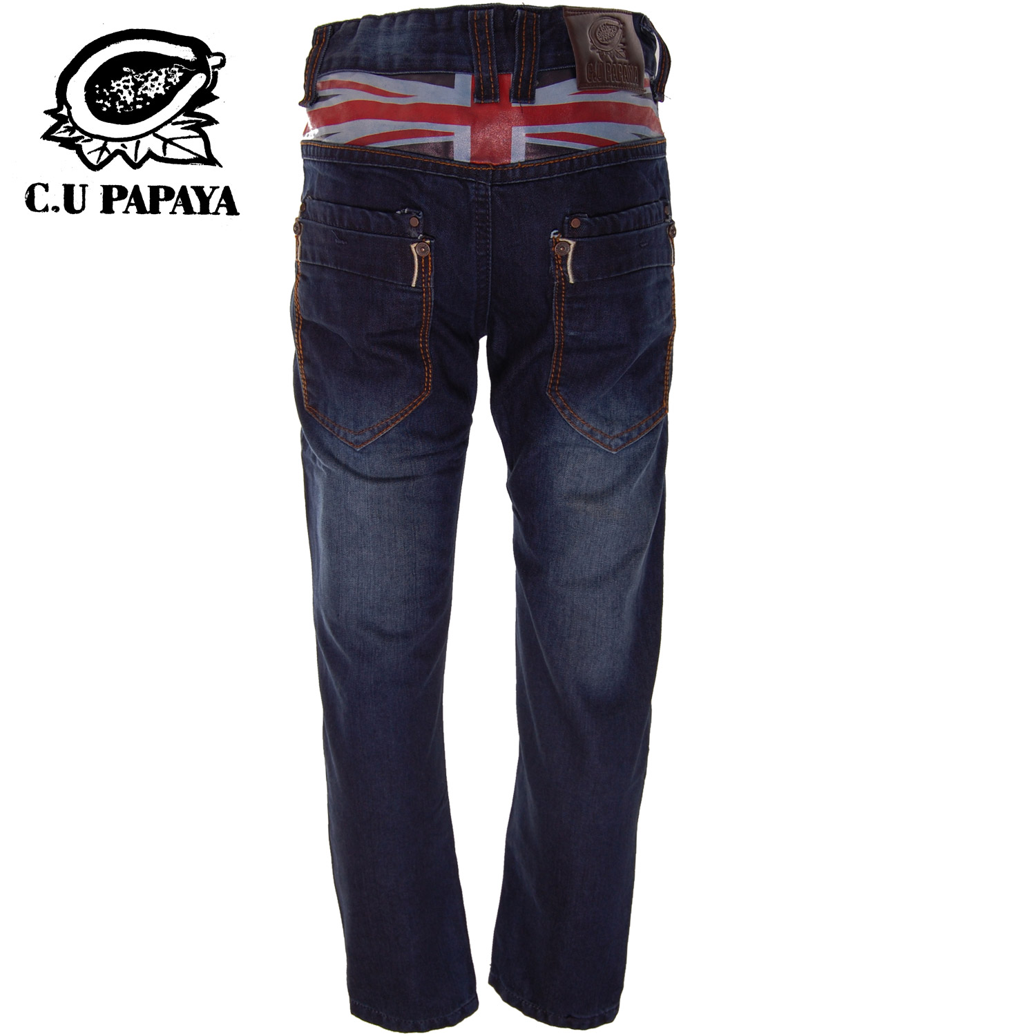 jeanshose jungen jeans hose british flag c u papaya by chilong. Black Bedroom Furniture Sets. Home Design Ideas