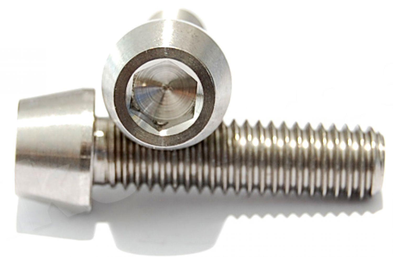 Titan tornillo m10 x 20-130 mm cónico din 912 Grade 5 rosca fina 1.25
