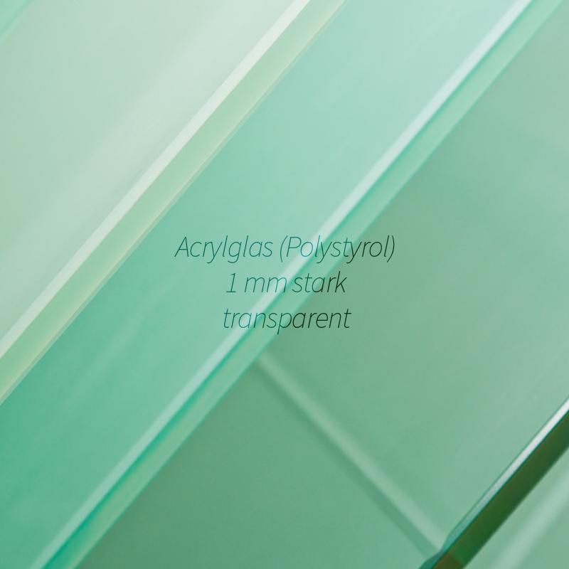 acrylglas polystyrol kunstglas klar zuschnitt platte 1 mm stark gr en x xxl ebay. Black Bedroom Furniture Sets. Home Design Ideas
