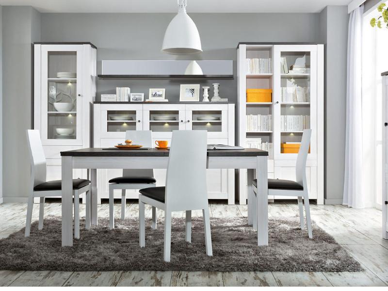 wohnwand antwerpen 01 4 tlg l rche hell kiefer larico wohnzimmer moebel. Black Bedroom Furniture Sets. Home Design Ideas