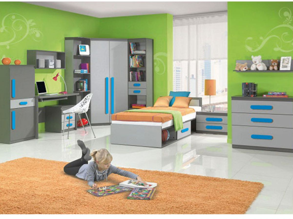 jugendzimmer kinderzimmer kinderm bel play 01 7tlg. Black Bedroom Furniture Sets. Home Design Ideas