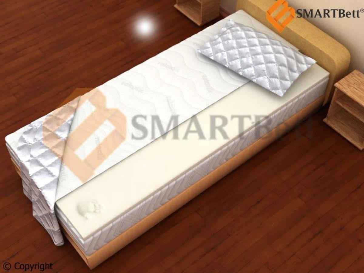 topper memory foam matratzenauflage visco elastic schaum 100x200 cm ebay. Black Bedroom Furniture Sets. Home Design Ideas