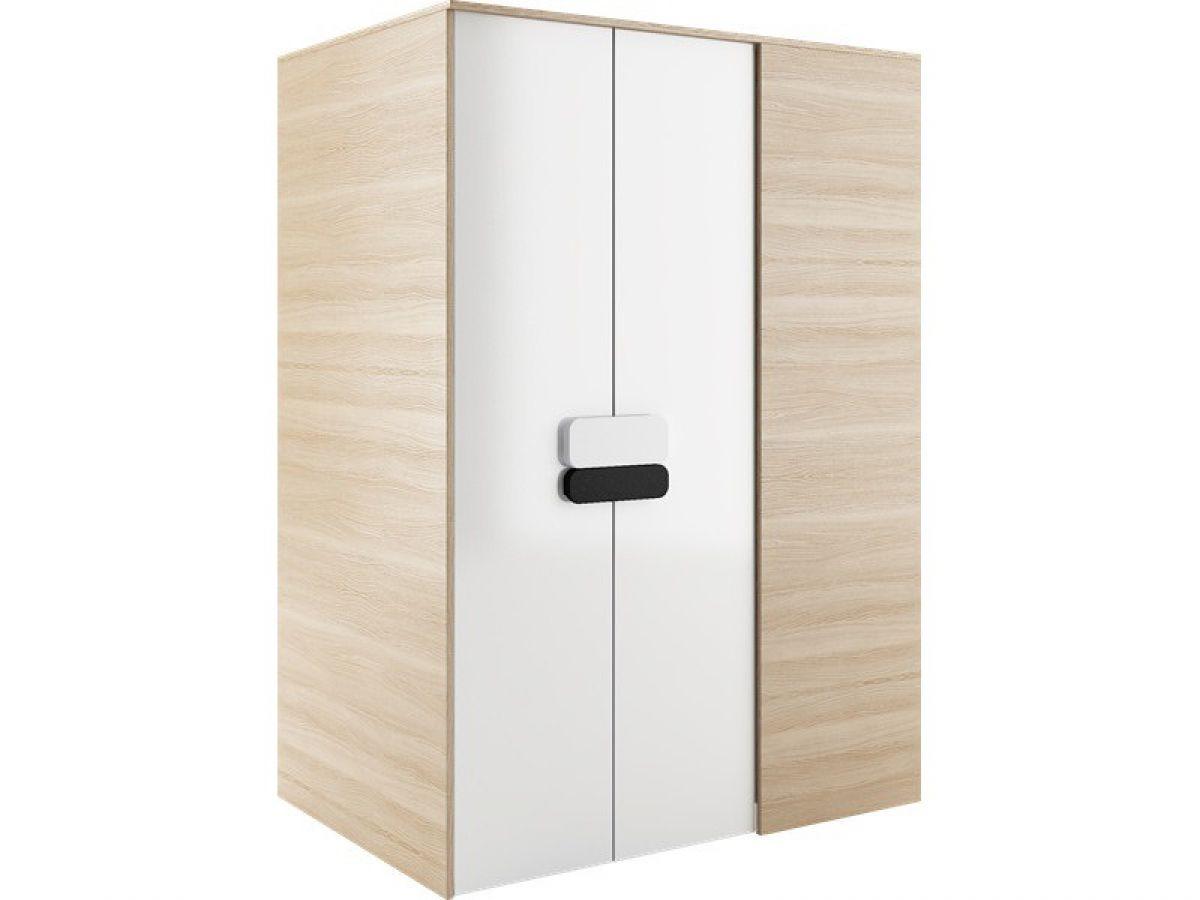 begehbarer kleiderschrank gusto links 130 cm eiche natur. Black Bedroom Furniture Sets. Home Design Ideas