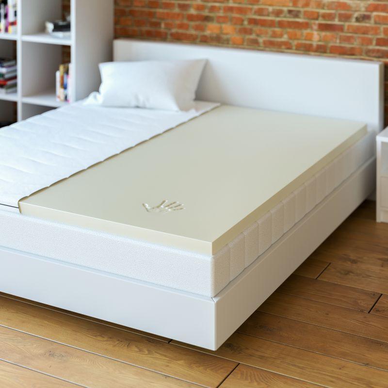 matratzentopper visco elastic schaum top memory foam topper verschiedene gr ssen ebay. Black Bedroom Furniture Sets. Home Design Ideas