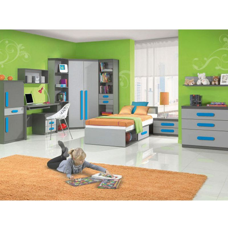 jugendzimmer fuer maedchen und jungen play 01 10 tlg. Black Bedroom Furniture Sets. Home Design Ideas
