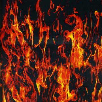 wassertransferdruck folie hydrographic flammen rot orange 100x100cm ebay. Black Bedroom Furniture Sets. Home Design Ideas