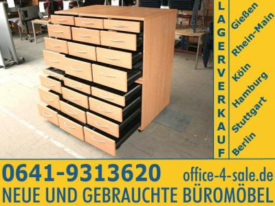 schubladenschrank kleinteileschrank b roschrank archiv ebay. Black Bedroom Furniture Sets. Home Design Ideas