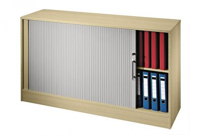 Rollladenschrank Advance Ahorn Sideboard Aktenschrank Buroschrank