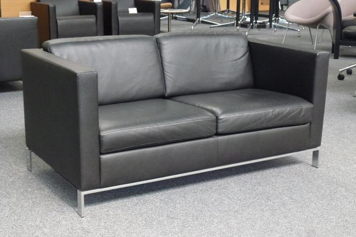 walter knoll 2 sitzer foster 500 20 ledercouch designm bel designklassiker ebay. Black Bedroom Furniture Sets. Home Design Ideas