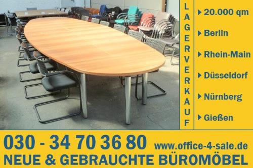 Thonet Konferenzanlage mehrteilig Besprechungslösung Konferenztisch ...