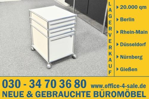 USM Haller Rollcontainer Schubladen cremeweiß Designklassiker Design ...