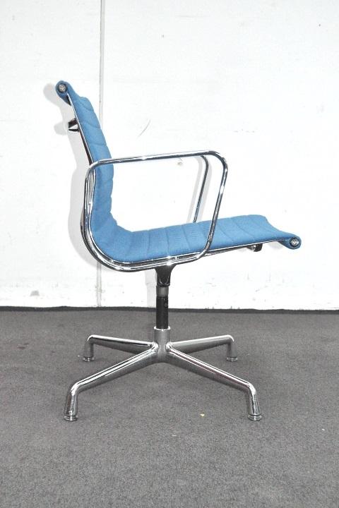 vitra aluminium chair ea 108 hopsak blau alu chair. Black Bedroom Furniture Sets. Home Design Ideas