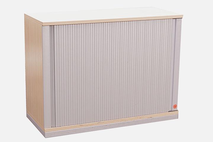 Werndl Steelcase Sideboard 2 Ordnerhöhen Rollladenschrank ...