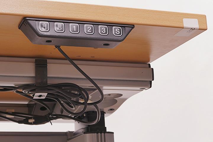 elektrischer steh sitz schreibtisch uno s k nig neurath b rotisch b rom bel ebay. Black Bedroom Furniture Sets. Home Design Ideas