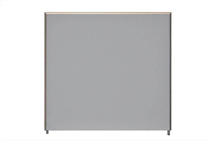 160 x 160 cm akustik trennwand formfac 5 in hellblau - Sichtschutz buro ...