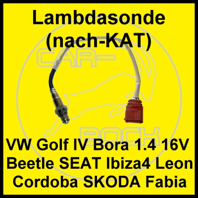 lambdasonde nach kat vw golf iv 4 bora 1 4 16v 55kw 75ps. Black Bedroom Furniture Sets. Home Design Ideas