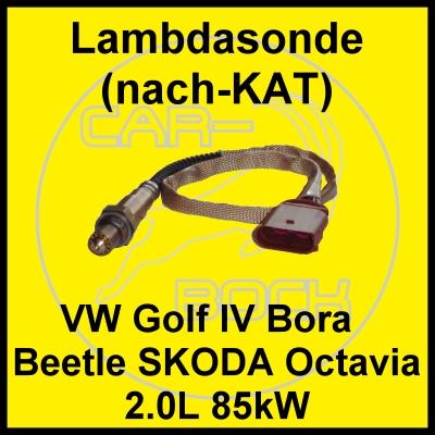 lambdasonde vw golf iv 4 new beetle nach kat 2 0 85kw aqy. Black Bedroom Furniture Sets. Home Design Ideas