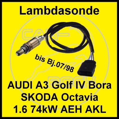 lambdasonde audi a3 skoda octavia 1 6 74kw aeh akl ebay. Black Bedroom Furniture Sets. Home Design Ideas