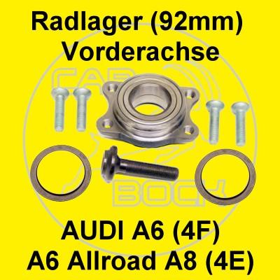 Radlager a6 4f