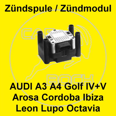 z ndspule 1 0 1 4 1 6 1 8 2 0 skoda octavia 1u fabia golf. Black Bedroom Furniture Sets. Home Design Ideas