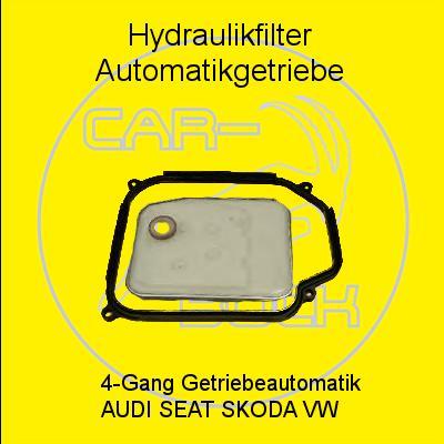 lsieb hydraulik filter satz automatikgetriebe audi a3 vw. Black Bedroom Furniture Sets. Home Design Ideas