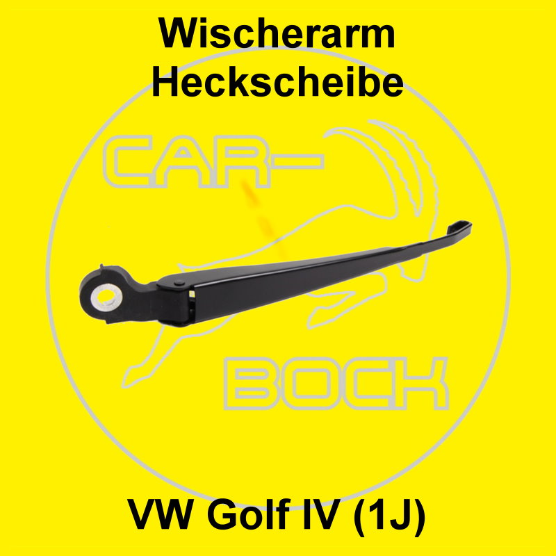 wischerarm heckscheibe vw golf 4 iv 1j scheibenwischer. Black Bedroom Furniture Sets. Home Design Ideas