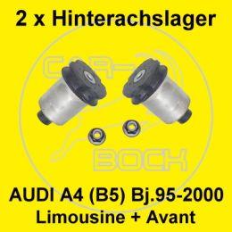 2 x Hinterachslager AUDI A4 (8D,B5) Limousine & Avant