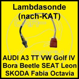 lambdasonde nach kat vw golf4 bora audi a3 1 6 75kw avu ebay. Black Bedroom Furniture Sets. Home Design Ideas