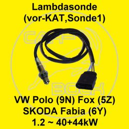 lambdasonde vor kat sonde 1 1 2 40kw 44kw vw polo 9n. Black Bedroom Furniture Sets. Home Design Ideas