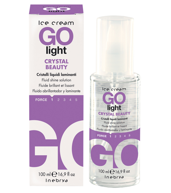 Inebrya Ice Cream Go light Crystal Beauty 100 ml (11.45 Euro pro 100 ml)