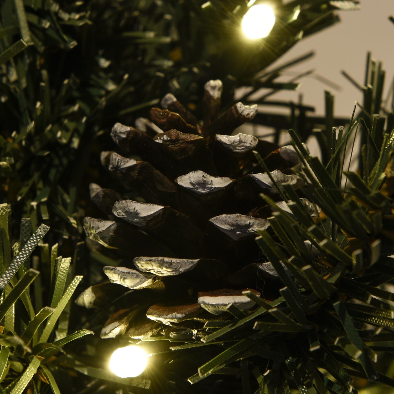 Balkon Weihnachtsbeleuchtung für den Blumenkasten mit 2 x Mini ...