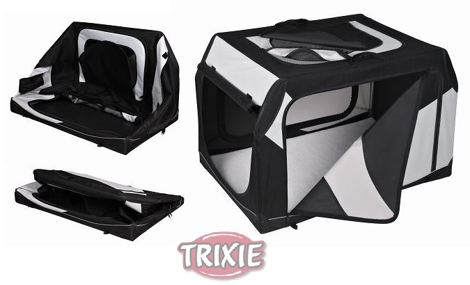 trixie hundebox vario s 20 nylon 61 cm faltbar 39721 ebay. Black Bedroom Furniture Sets. Home Design Ideas