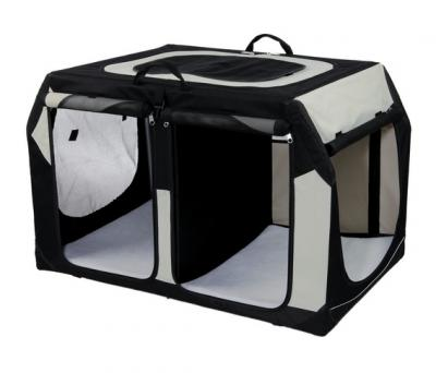 trixie 39725 transportbox vario double 91 cm doppel. Black Bedroom Furniture Sets. Home Design Ideas