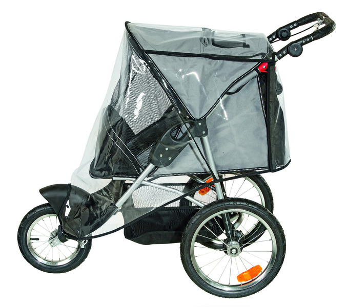 hunde sport buggy 3 rad jogger hundebuggy teflon easy lock system mit regencape ebay. Black Bedroom Furniture Sets. Home Design Ideas