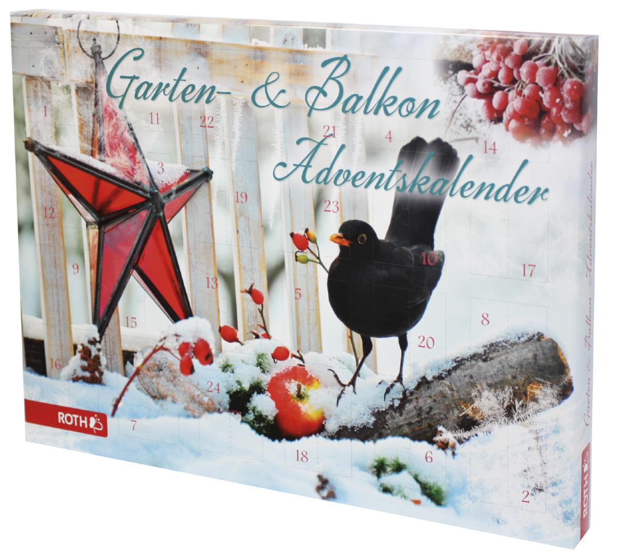 adventskalender weihnachtskalender garten und balkonkalender ebay. Black Bedroom Furniture Sets. Home Design Ideas