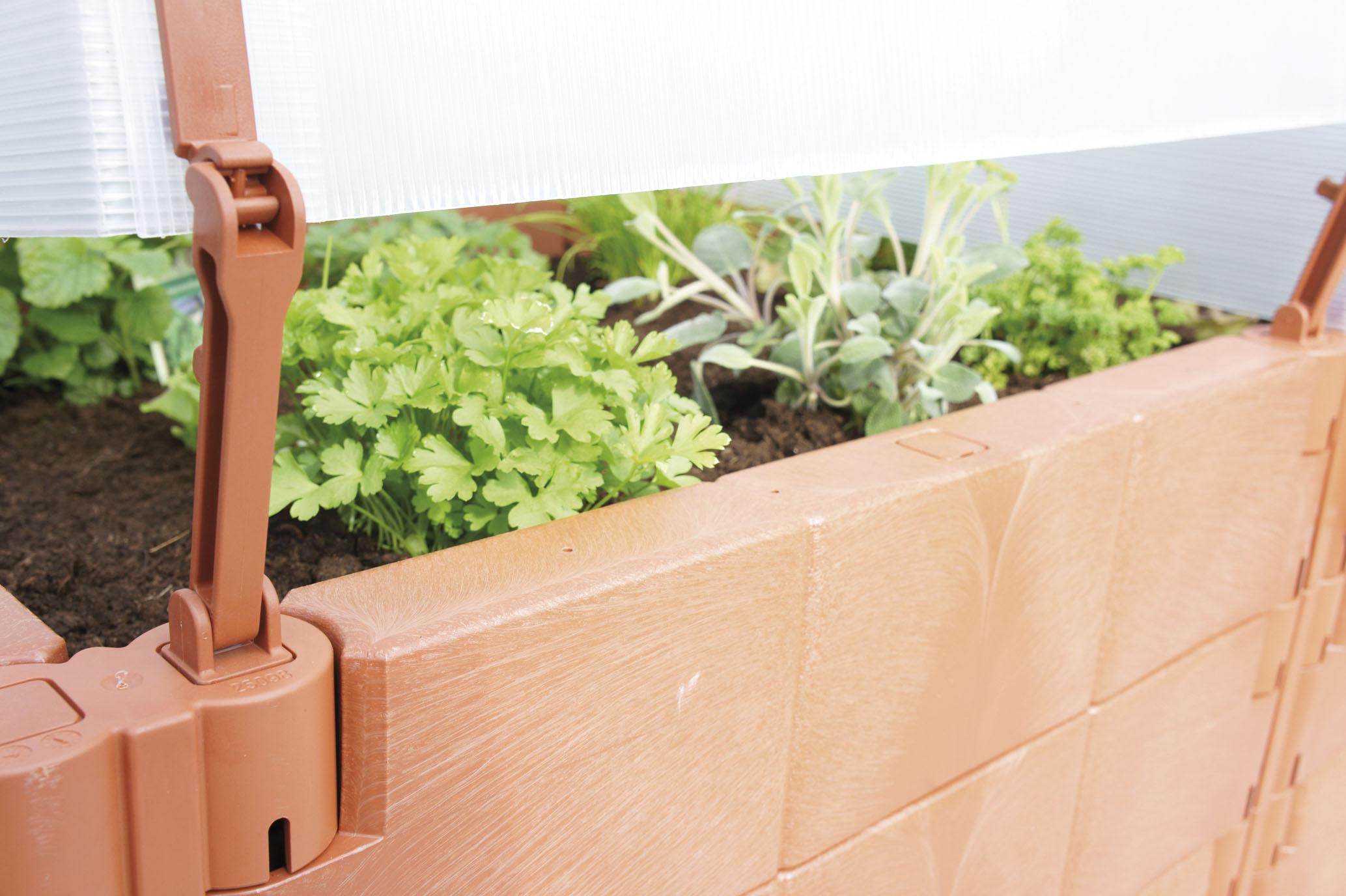 balkon hochbeet terracotta ebay. Black Bedroom Furniture Sets. Home Design Ideas
