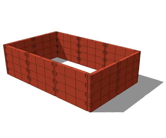 juwel hochbeet gr e 2 inkl fr hbeet aufbausatz ebay. Black Bedroom Furniture Sets. Home Design Ideas
