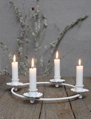 ib laursen kerzenhalter kranz adventskranz f r stabkerzen. Black Bedroom Furniture Sets. Home Design Ideas