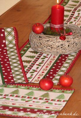 sander gobelin tischl ufer sterne ilex weihnachten 20x160 x mas holidays ebay. Black Bedroom Furniture Sets. Home Design Ideas