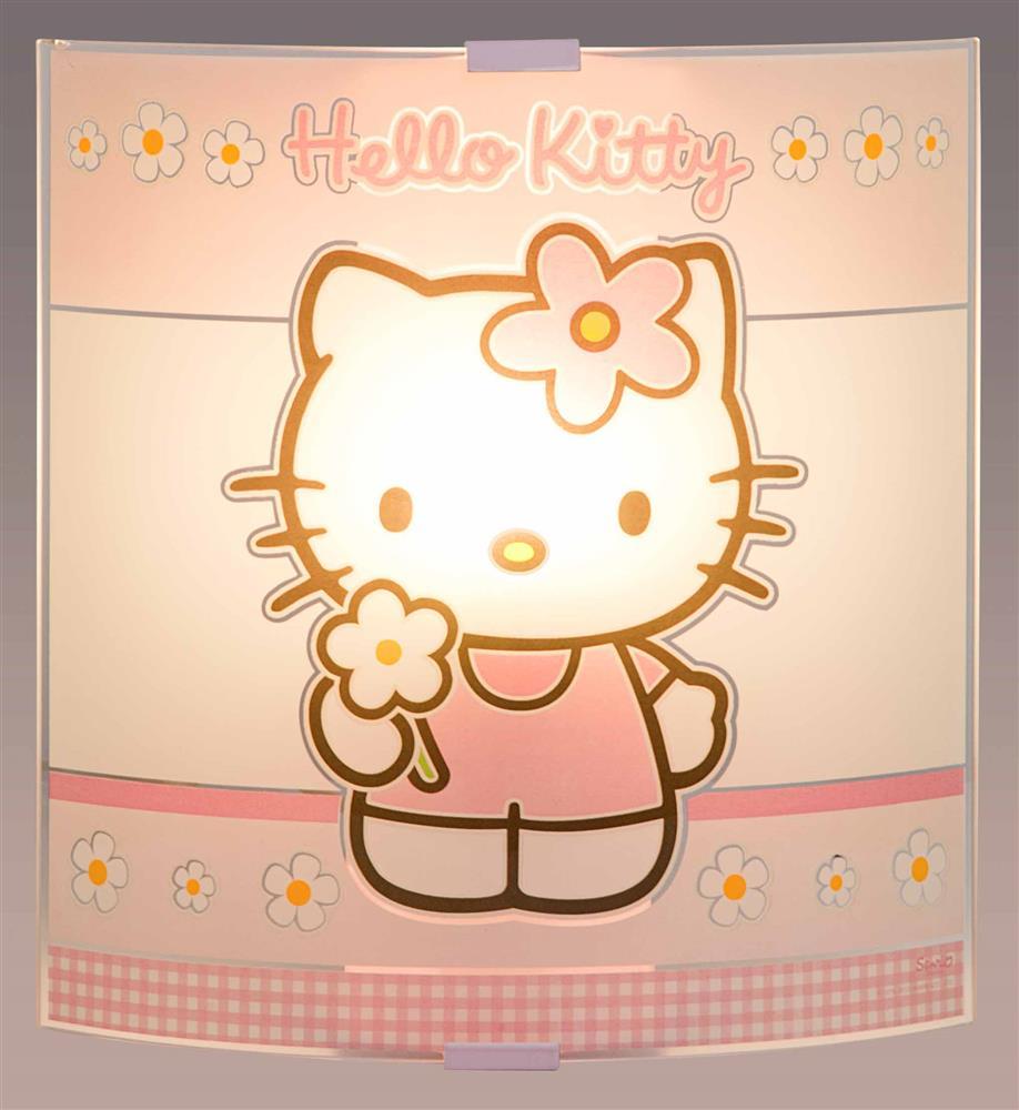 applique murale hello kitty
