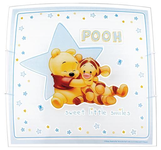 winnie the pooh deckenlampe 23666 kinderlampe kinderzimmer. Black Bedroom Furniture Sets. Home Design Ideas