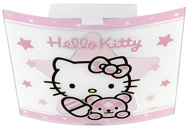 hello kitty deckenlampe 80256 pink rosa kinderlampe