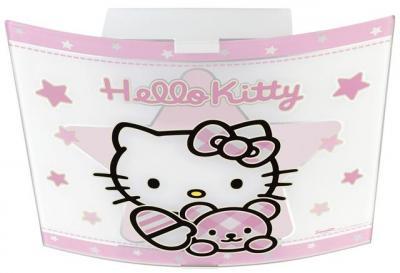 hello kitty deckenlampe 80256 pink rosa kinderlampe. Black Bedroom Furniture Sets. Home Design Ideas