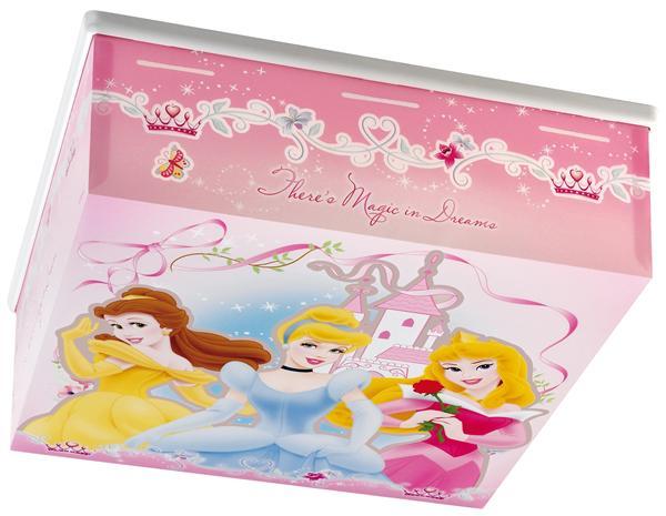prinsess deckenlampe 75876 prinzessin pink rosa restposten. Black Bedroom Furniture Sets. Home Design Ideas