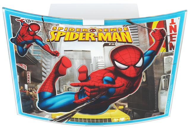 Spider man deckenlampe 80606 spiderman kinderlampe - Cars deckenlampe ...