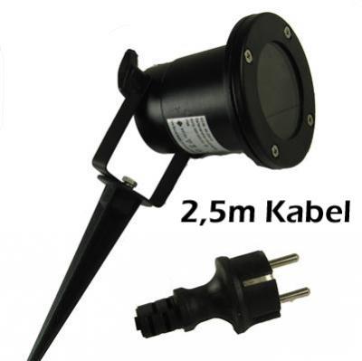 6 watt led dimmbar gu10 gartenleuchte schwarz ip68 gartenstrahler gartenlampe ebay. Black Bedroom Furniture Sets. Home Design Ideas