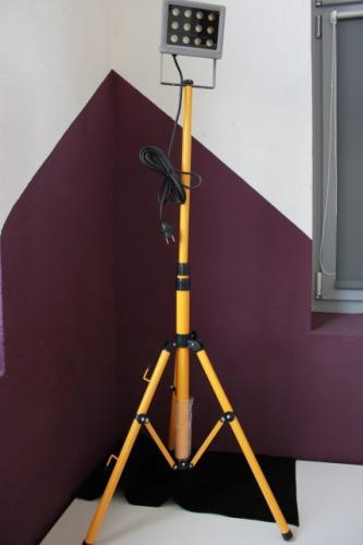 led baustrahler arbeitslampe heimwerker baulampe arbeitsleuchte stativ ip65 ebay. Black Bedroom Furniture Sets. Home Design Ideas