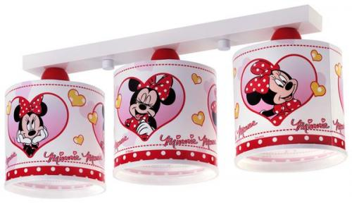 Minnie mouse deckenlampe 60723 minnie mouse kinderlampe kinderzimmer lampe leuch ebay - Minnie mouse kinderzimmer ...